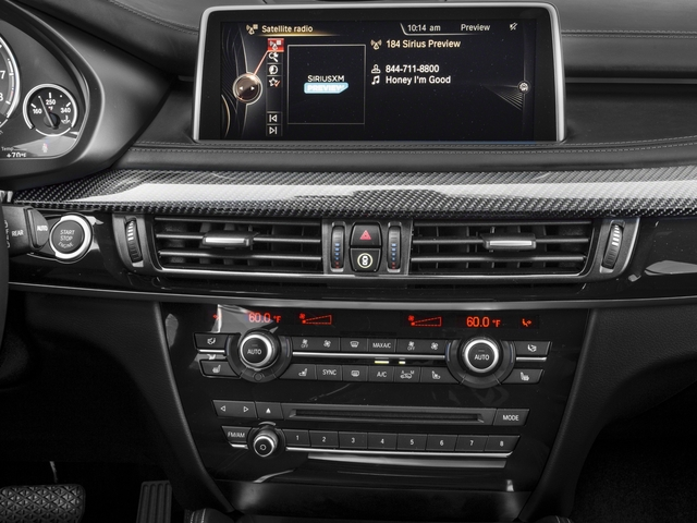 2017 BMW X5 M Prices and Values Utility 4D M AWD V8 Turbo stereo system