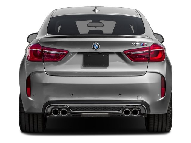2017 BMW X6 M Prices and Values Utility 4D M AWD V8 Turbo rear view