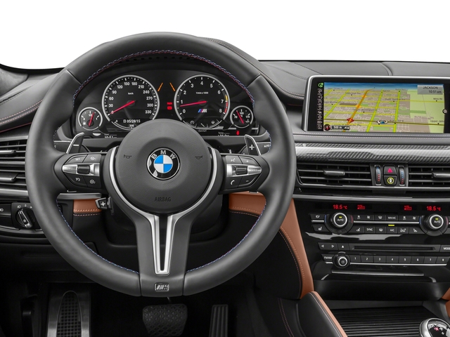 2017 BMW X6 M Prices and Values Utility 4D M AWD V8 Turbo driver's dashboard