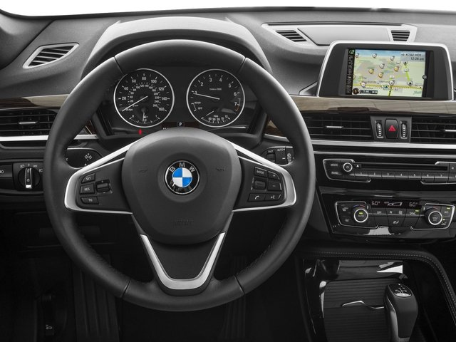 2017 BMW X1 Prices and Values Utility 4D 28i 2WD I4 Turbo driver's dashboard