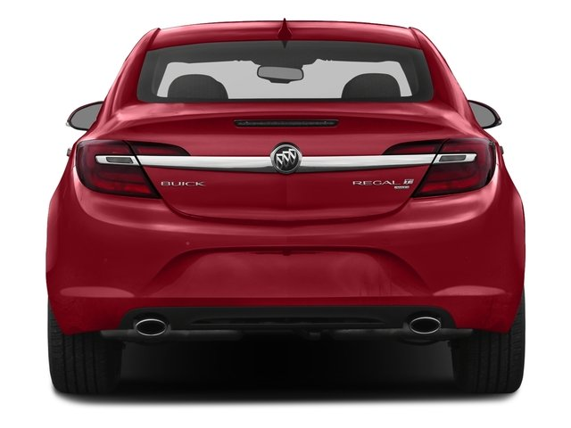 2017 Buick Regal Prices and Values Sedan 4D Premium II AWD I4 Turbo rear view