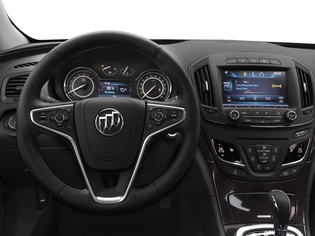 2017 Buick Regal Prices and Values Sedan 4D Premium II AWD I4 Turbo driver's dashboard