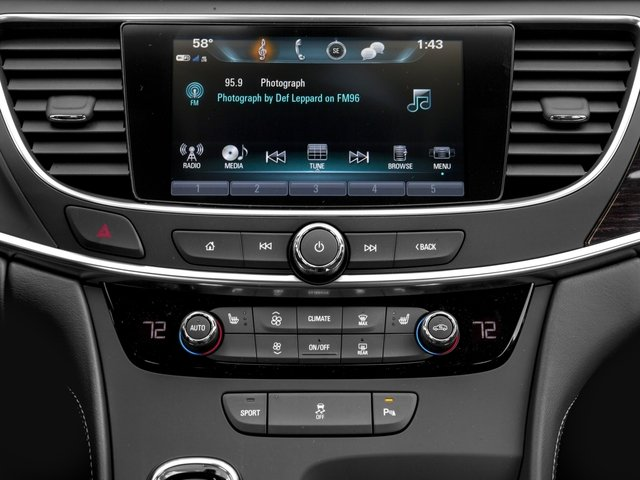 2017 Buick LaCrosse Prices and Values Sedan 4D Preferred V6 stereo system