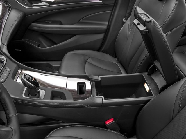 2017 Buick LaCrosse Prices and Values Sedan 4D Preferred V6 center storage console