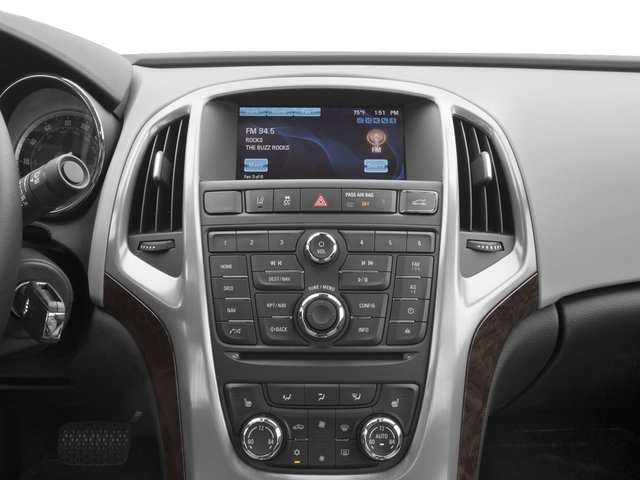 2017 Buick Verano Base Price 4dr Sdn Sport Touring Pricing stereo system