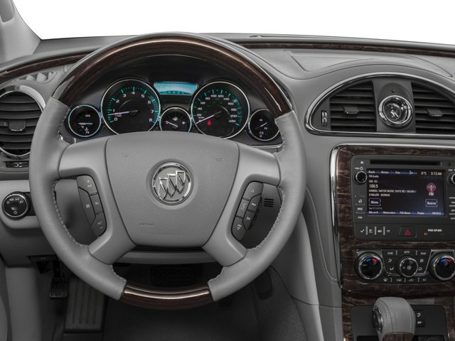 2017 Buick Enclave Base Price FWD 4dr Convenience Pricing driver's dashboard