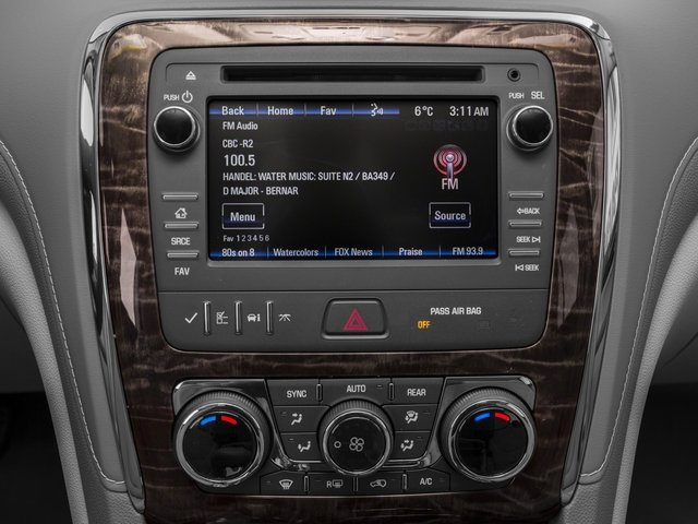 2017 Buick Enclave Base Price FWD 4dr Convenience Pricing stereo system