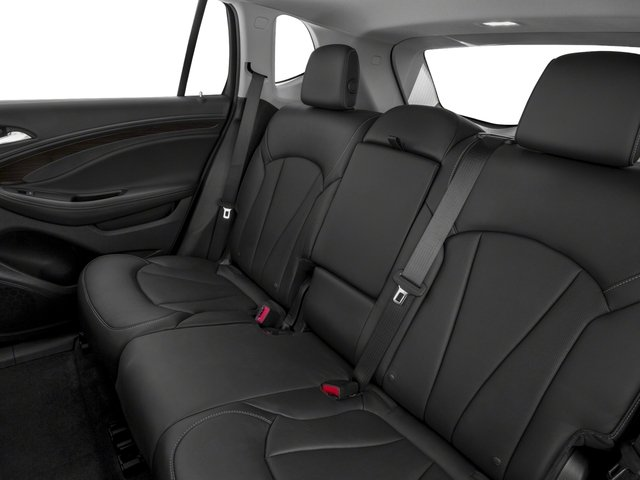 2017 Buick Envision Pictures Envision FWD 4dr photos backseat interior