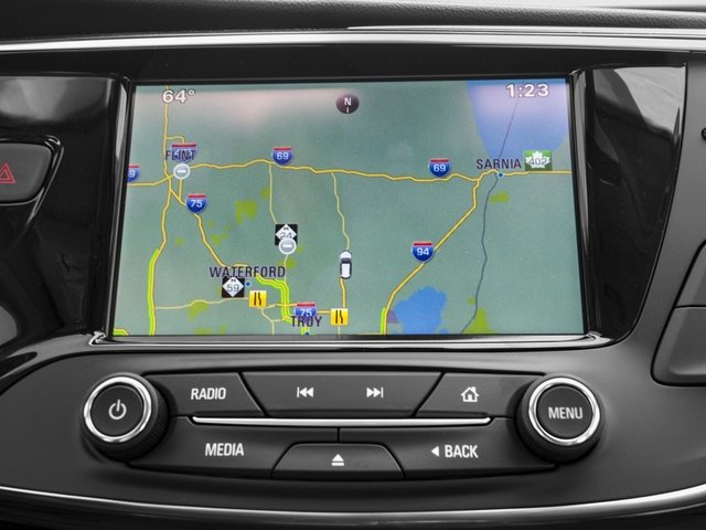 2017 Buick Envision Pictures Envision AWD 4dr Essence photos navigation system