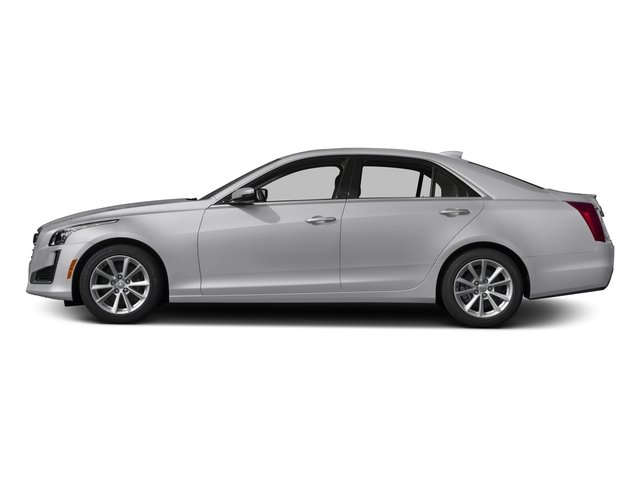 2017 Cadillac CTS Sedan Pictures CTS Sedan 4D AWD I4 Turbo photos side view