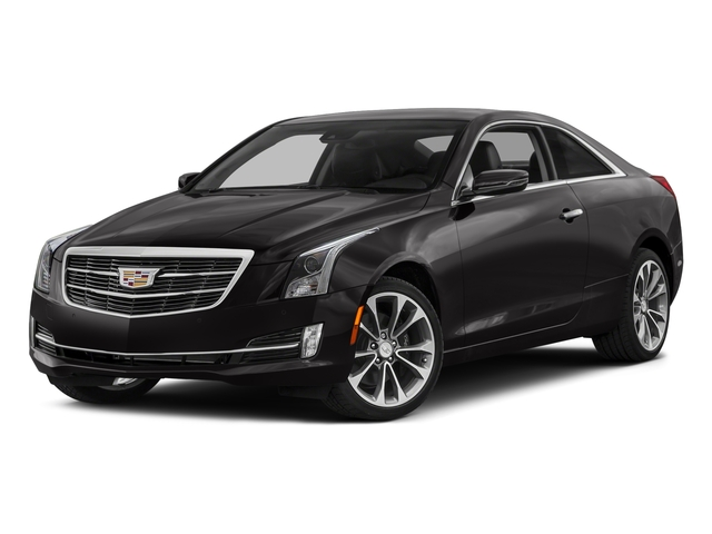 2017 Cadillac ATS Coupe Pictures ATS Coupe 2D Premium Performance V6 photos side front view