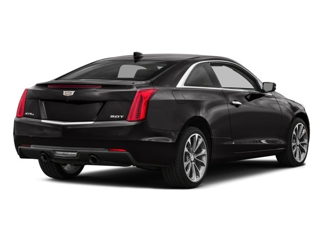 2017 Cadillac ATS Coupe Pictures ATS Coupe 2D Premium Performance V6 photos side rear view