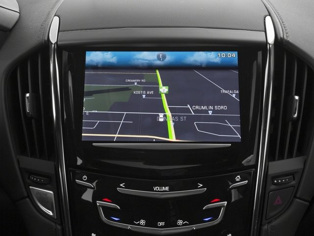 2017 Cadillac ATS Coupe Pictures ATS Coupe 2D Premium Performance V6 photos navigation system