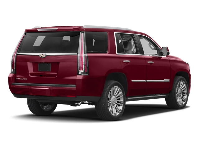 2017 Cadillac Escalade Prices and Values Utility 4D Platinum 2WD V8 side rear view