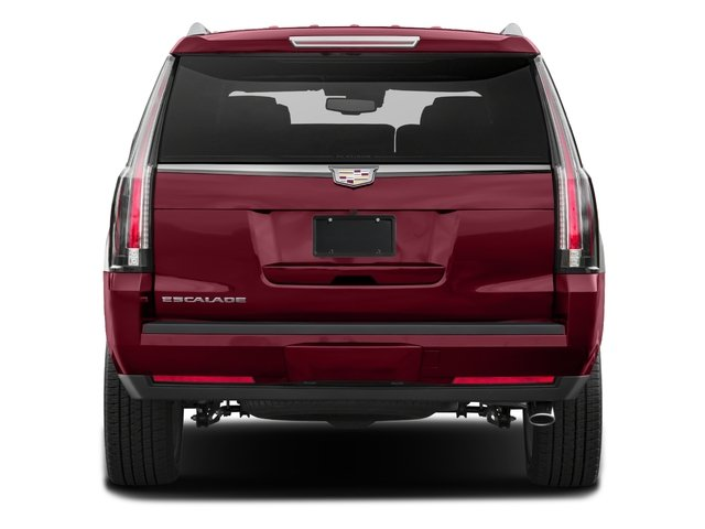 2017 Cadillac Escalade Prices and Values Utility 4D Platinum 2WD V8 rear view