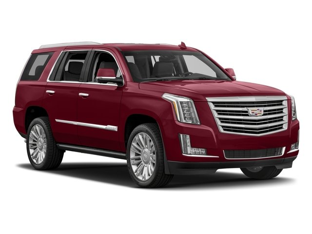 2017 Cadillac Escalade Prices and Values Utility 4D Platinum 2WD V8 side front view
