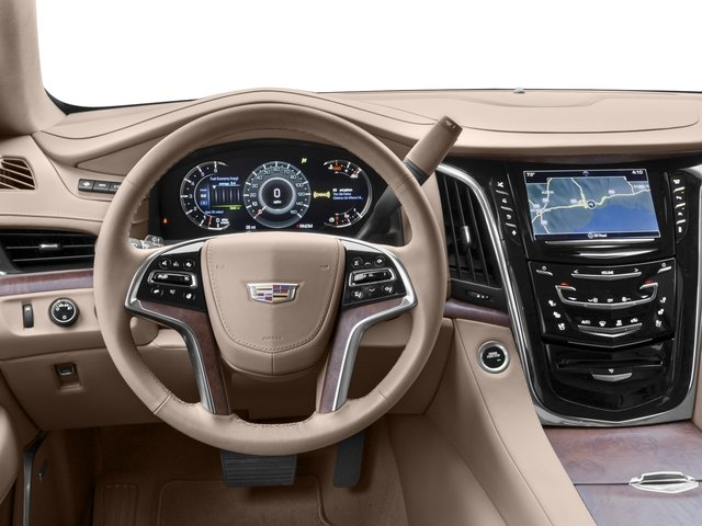 2017 Cadillac Escalade Prices and Values Utility 4D Platinum 2WD V8 driver's dashboard