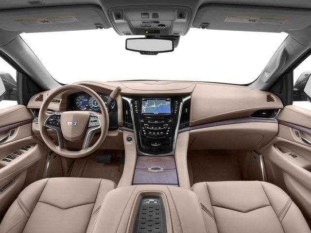 2017 Cadillac Escalade Prices and Values Utility 4D Platinum 2WD V8 full dashboard