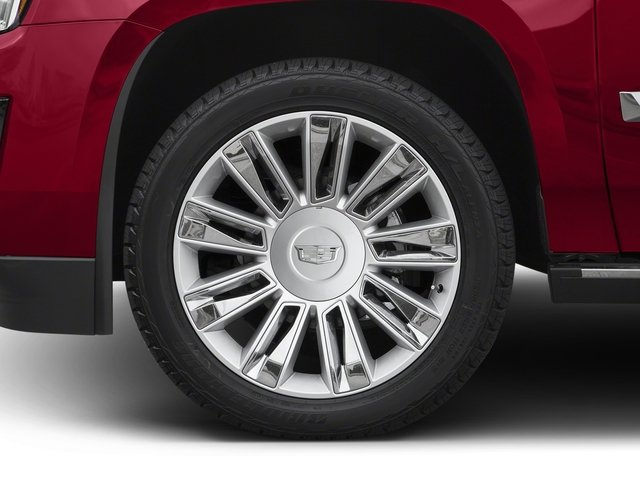 2017 Cadillac Escalade Prices and Values Utility 4D Platinum 2WD V8 wheel