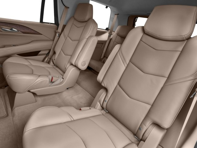 2017 Cadillac Escalade Prices and Values Utility 4D Platinum 2WD V8 backseat interior