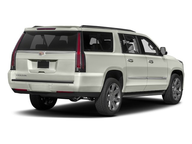 2017 Cadillac Escalade ESV Prices and Values Utility 4D ESV Platinum 4WD V8 side rear view