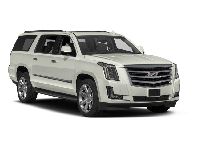2017 Cadillac Escalade ESV Prices and Values Utility 4D ESV Platinum 4WD V8 side front view