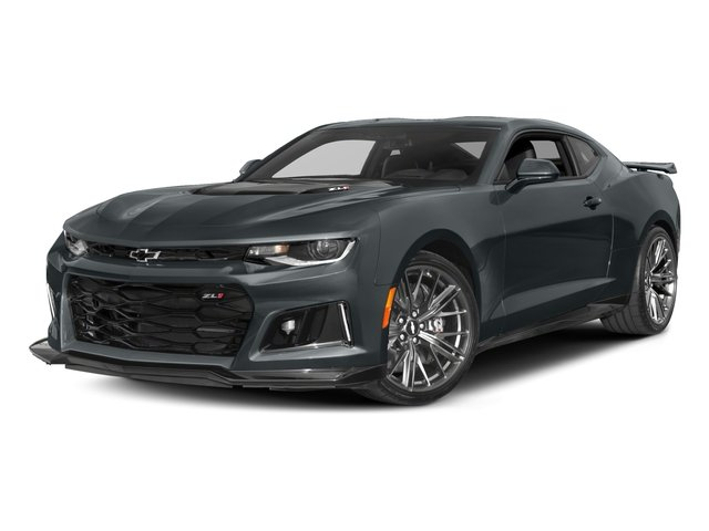 2017 Chevrolet Camaro Pictures Camaro 2dr Cpe ZL1 photos side front view