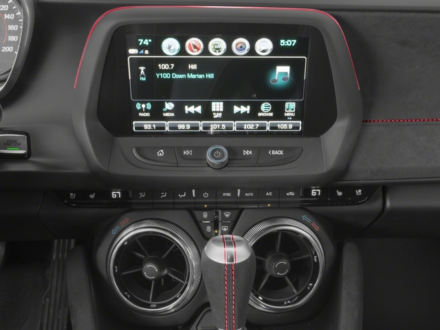 2017 Chevrolet Camaro Pictures Camaro 2dr Cpe ZL1 photos stereo system