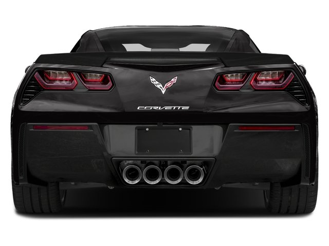 2017 Chevrolet Corvette Base Price 2dr Stingray Z51 Cpe w/1LT Pricing rear view
