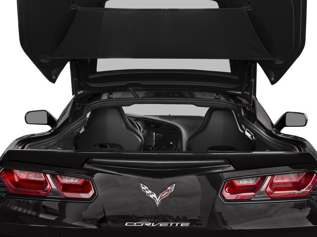2017 Chevrolet Corvette Base Price 2dr Stingray Z51 Cpe w/1LT Pricing open trunk