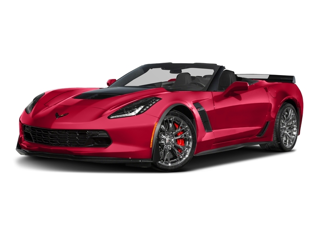 2017 Chevrolet Corvette Base Price 2dr Z06 Conv w/2LZ Pricing side front view