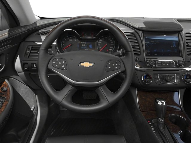 2017 Chevrolet Impala Base Price 4dr Sdn Premier w/2LZ Pricing driver's dashboard