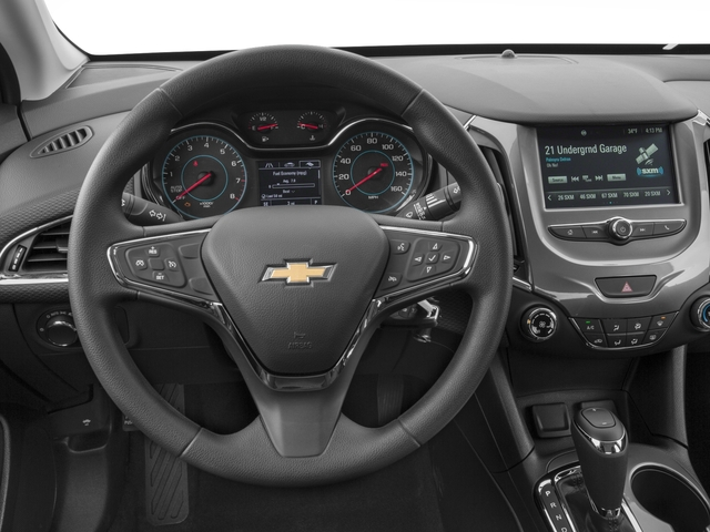 2017 Chevrolet Cruze Base Price 4dr Sdn 1.4L LT w/1SC Pricing driver's dashboard