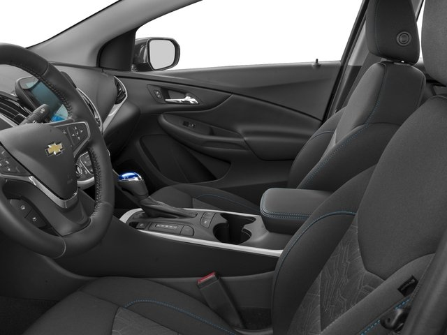 2017 Chevrolet Volt Base Price 5dr HB LT Pricing front seat interior