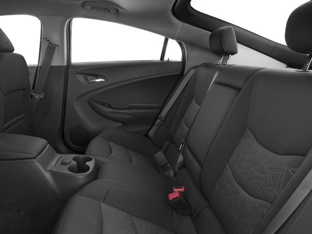 2017 Chevrolet Volt Base Price 5dr HB LT Pricing backseat interior