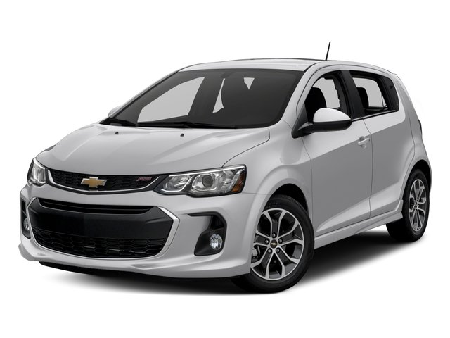 2017 Chevrolet Sonic Pictures Sonic 5dr HB Auto LT w/1SD photos side front view
