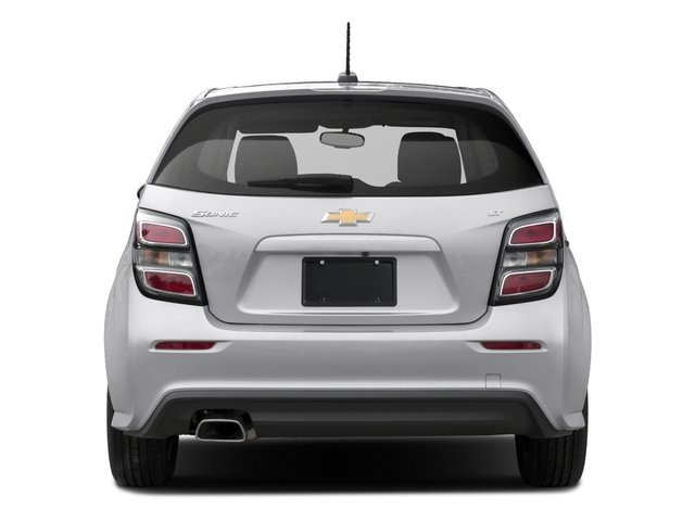 2017 Chevrolet Sonic Pictures Sonic 5dr HB Auto LT w/1SD photos rear view