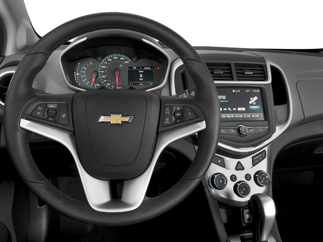 2017 Chevrolet Sonic Pictures Sonic 4dr Sdn Manual LS photos driver's dashboard