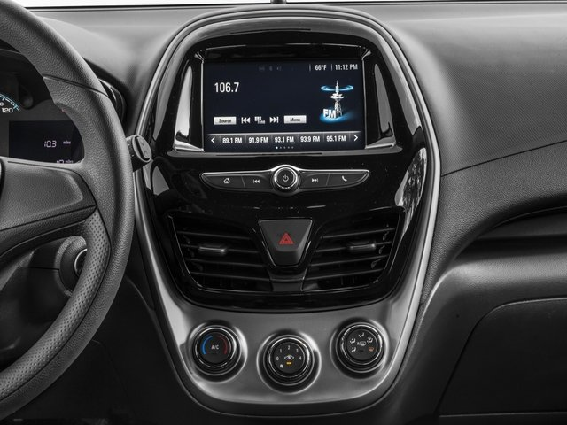 2017 Chevrolet Spark Pictures Spark 5dr HB Man LS photos stereo system