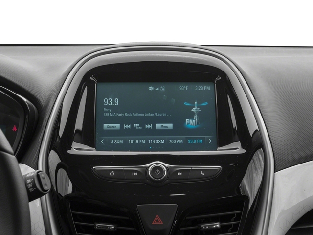 2017 Chevrolet Spark Pictures Spark 5dr HB Man ACTIV photos stereo system