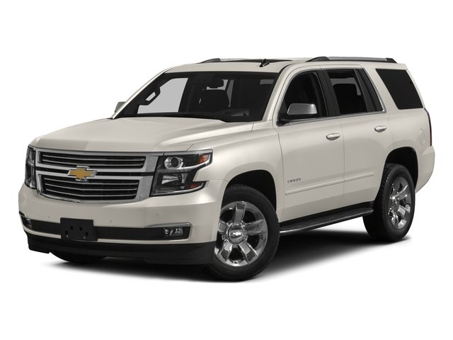 2017 Chevrolet Tahoe Pictures Tahoe 4WD 4dr Premier photos side front view