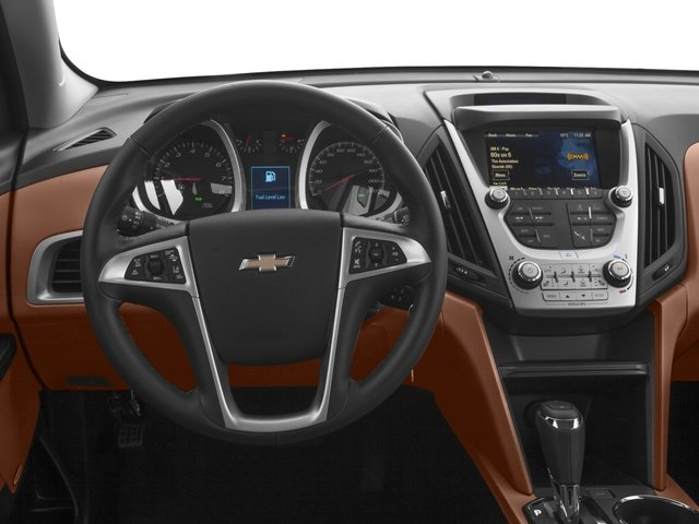 2017 Chevrolet Equinox Base Price FWD 4dr Premier Pricing driver's dashboard