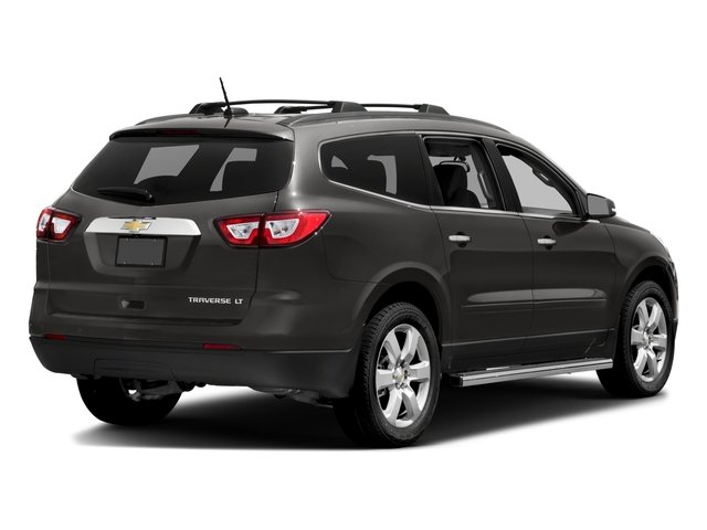 2017 Chevrolet Traverse Pictures Traverse AWD 4dr LT w/1LT photos side rear view