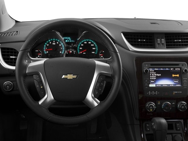 2017 Chevrolet Traverse Pictures Traverse AWD 4dr LT w/1LT photos driver's dashboard