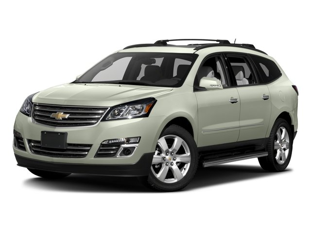 2017 Chevrolet Traverse Base Price FWD 4dr Premier Pricing side front view