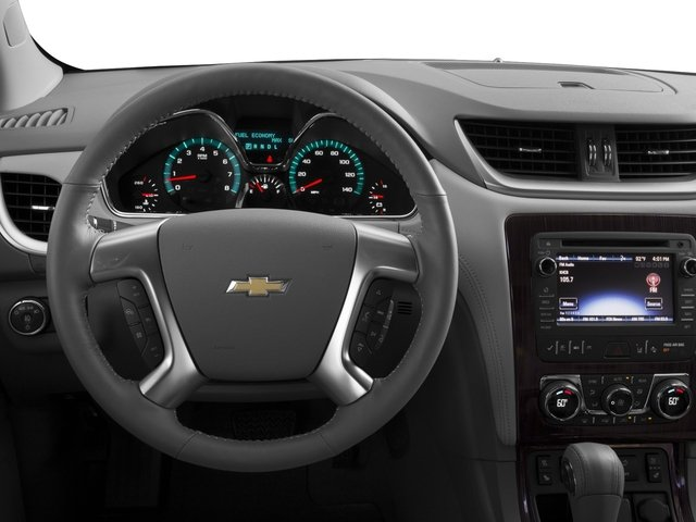 2017 Chevrolet Traverse Base Price FWD 4dr Premier Pricing driver's dashboard