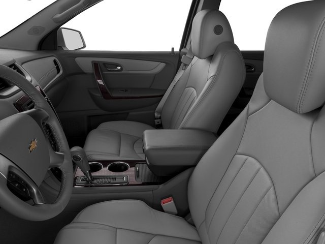 2017 Chevrolet Traverse Base Price FWD 4dr Premier Pricing front seat interior