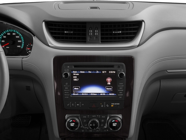 2017 Chevrolet Traverse Base Price FWD 4dr Premier Pricing stereo system