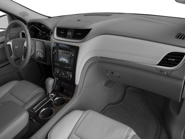 2017 Chevrolet Traverse Base Price FWD 4dr Premier Pricing passenger's dashboard