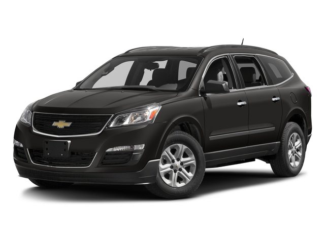 2017 Chevrolet Traverse Base Price FWD 4dr LS w/1LS Pricing side front view